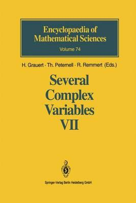 Several Complex Variables VII