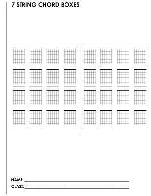 7 String Chord Boxes