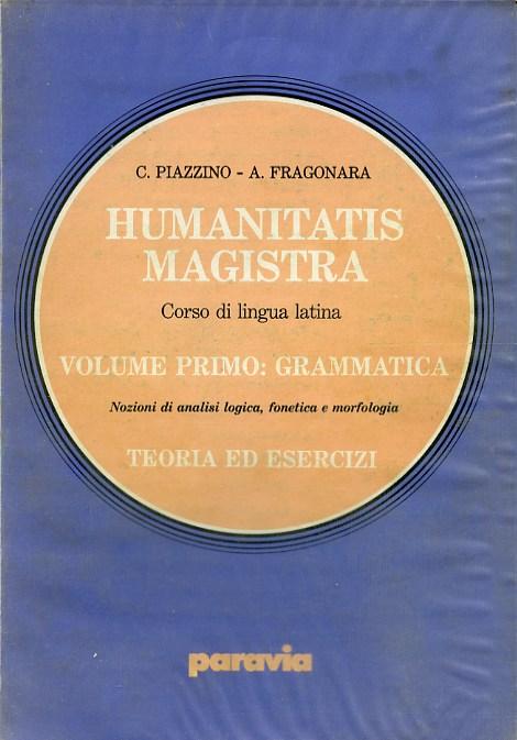Humanitatis magistra - Volume I