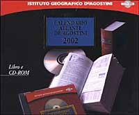 Calendario atlante De Agostini 2002