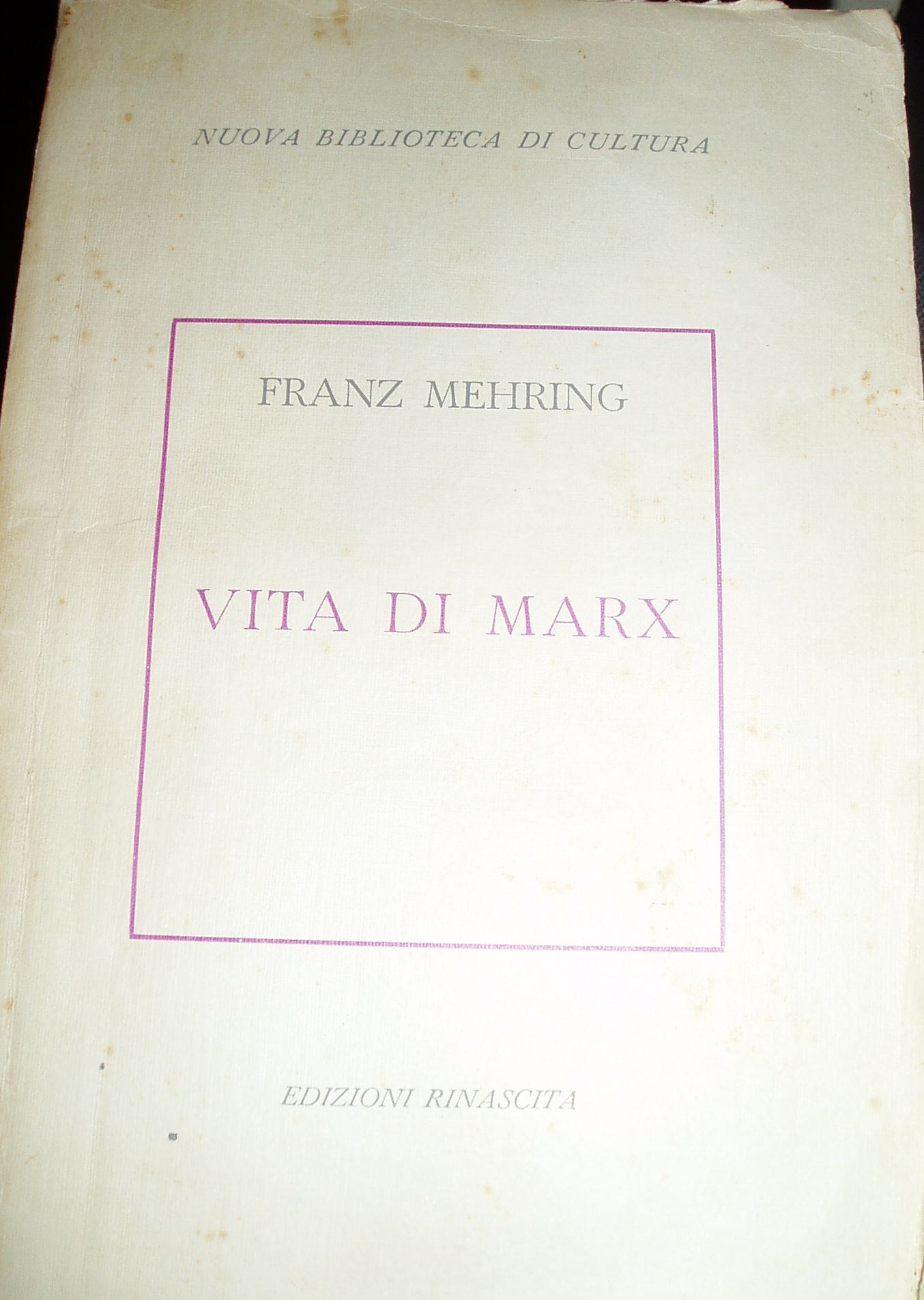 Vita di Marx