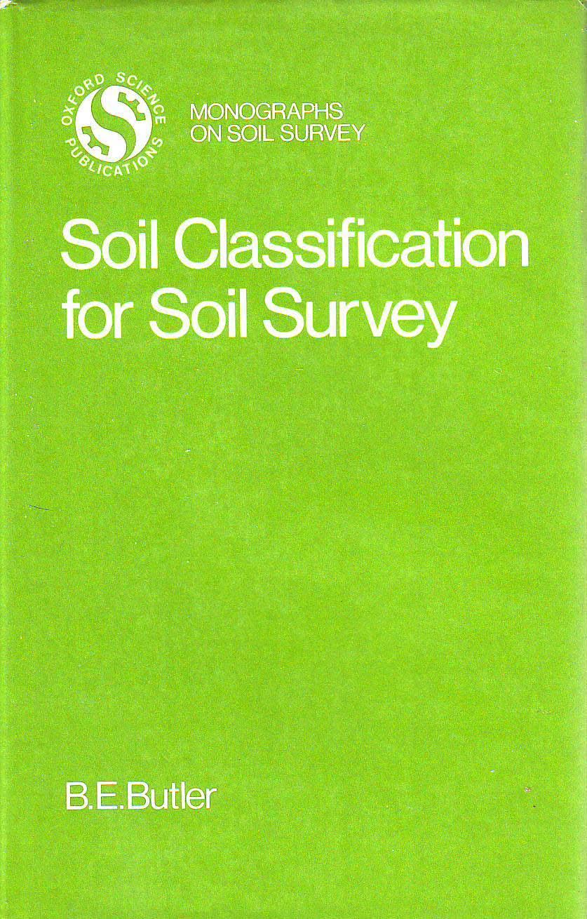 Soil Classification for Soil Survey
