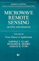 Microwave Remote Sensing: From theory to applications
