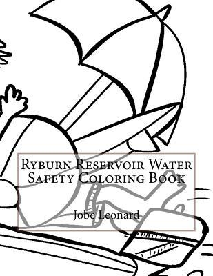 Ryburn Reservoir Water Safety Coloring Book
