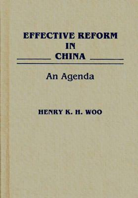 Effective Reform in China