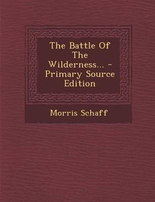 The Battle of the Wilderness