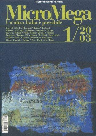 MicroMega 1/2003