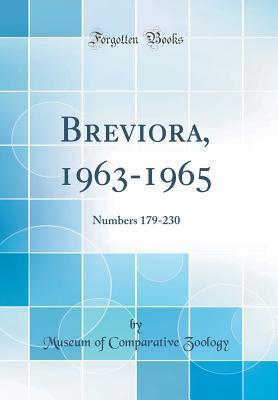 Breviora, 1963-1965