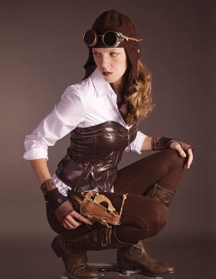 Steampunk Girl Hex-m...