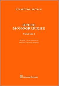 Opere monografiche