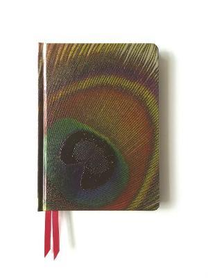 Peacock Feather - Contemporary Foiled Journal