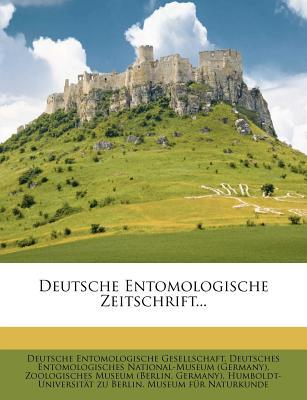 Deutsche Entomologis...