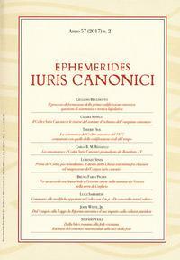 Ephemerides Iuris canonici  (2017)