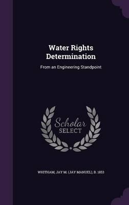 Water Rights Determination