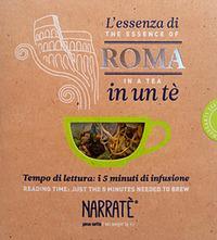 L'essenza di Roma in un tè. Tempo di lettura