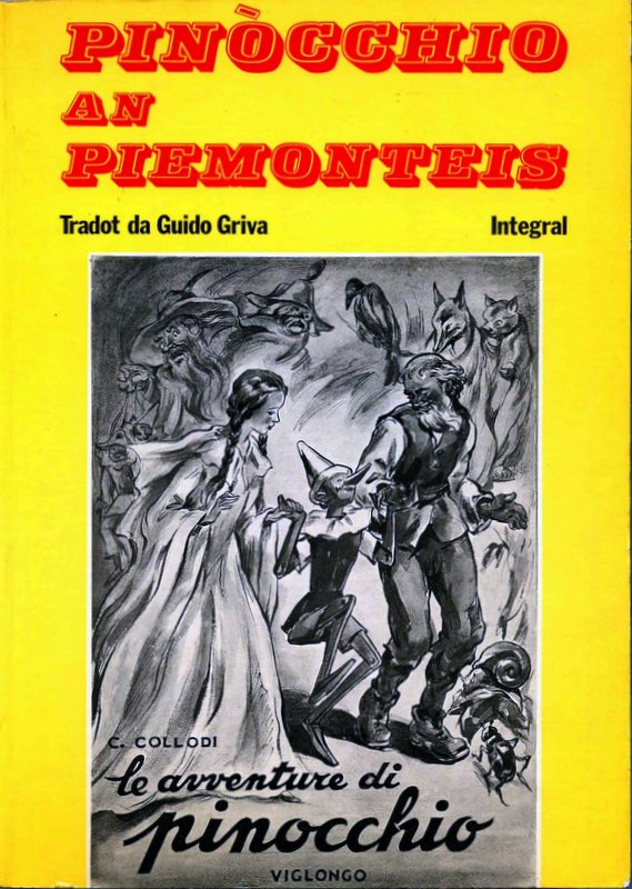 Pinocchio an piemonteis