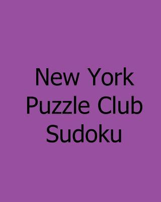New York Puzzle Club Sudoku