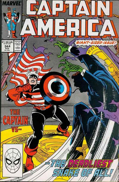 Captain America Vol.1 #344