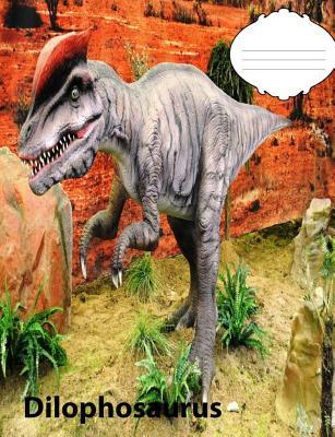 Dilophosaurus Dinosaur Story Story paper Composition Book