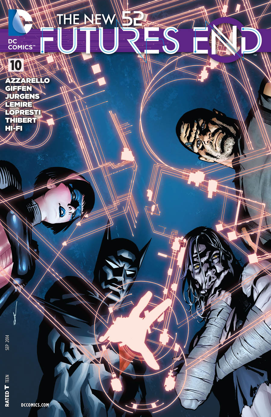 The New 52: Futures End Vol.1 #10