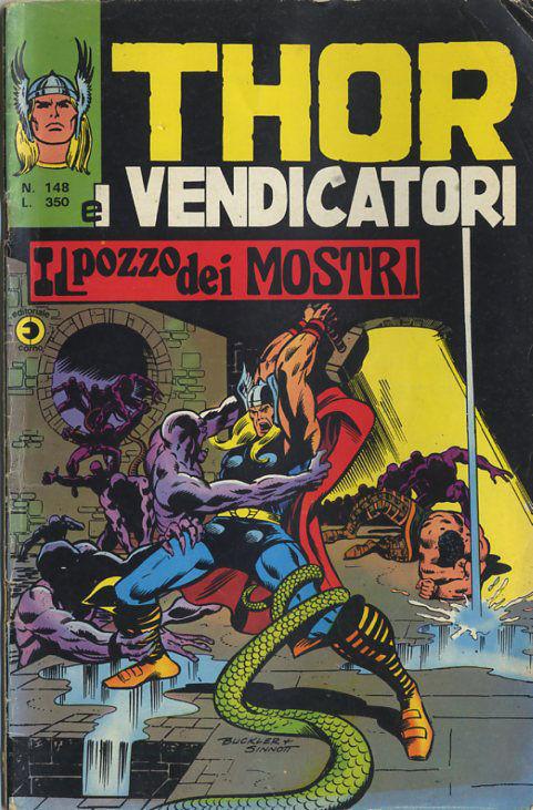 Thor e i Vendicatori (Il Mitico Thor) n. 148