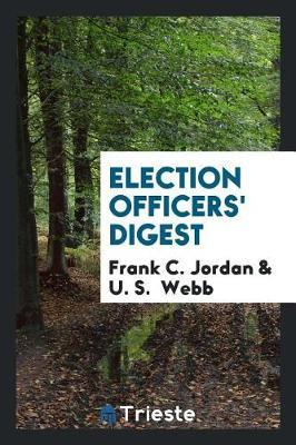 Election Officers' Digest