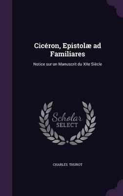 Ciceron, Epistolae A...