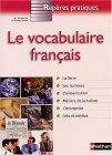 Le vocabulaire français