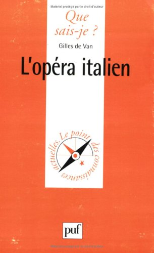 L'opéra italien