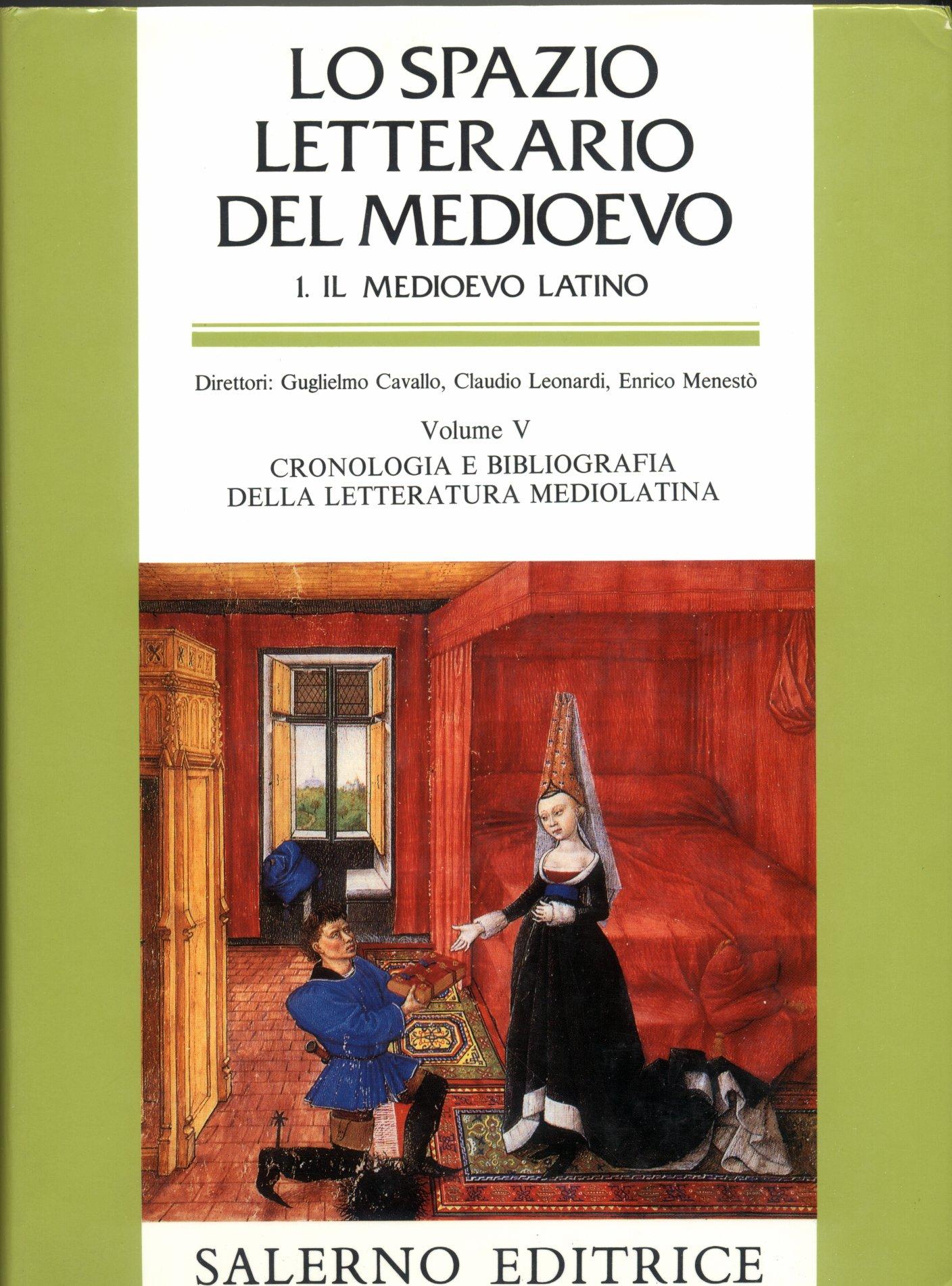 Lo spazio letterario del Medioevo