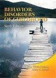Behavior Disorders of Childhood