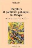 Inégalités et politiques publiques en Afrique