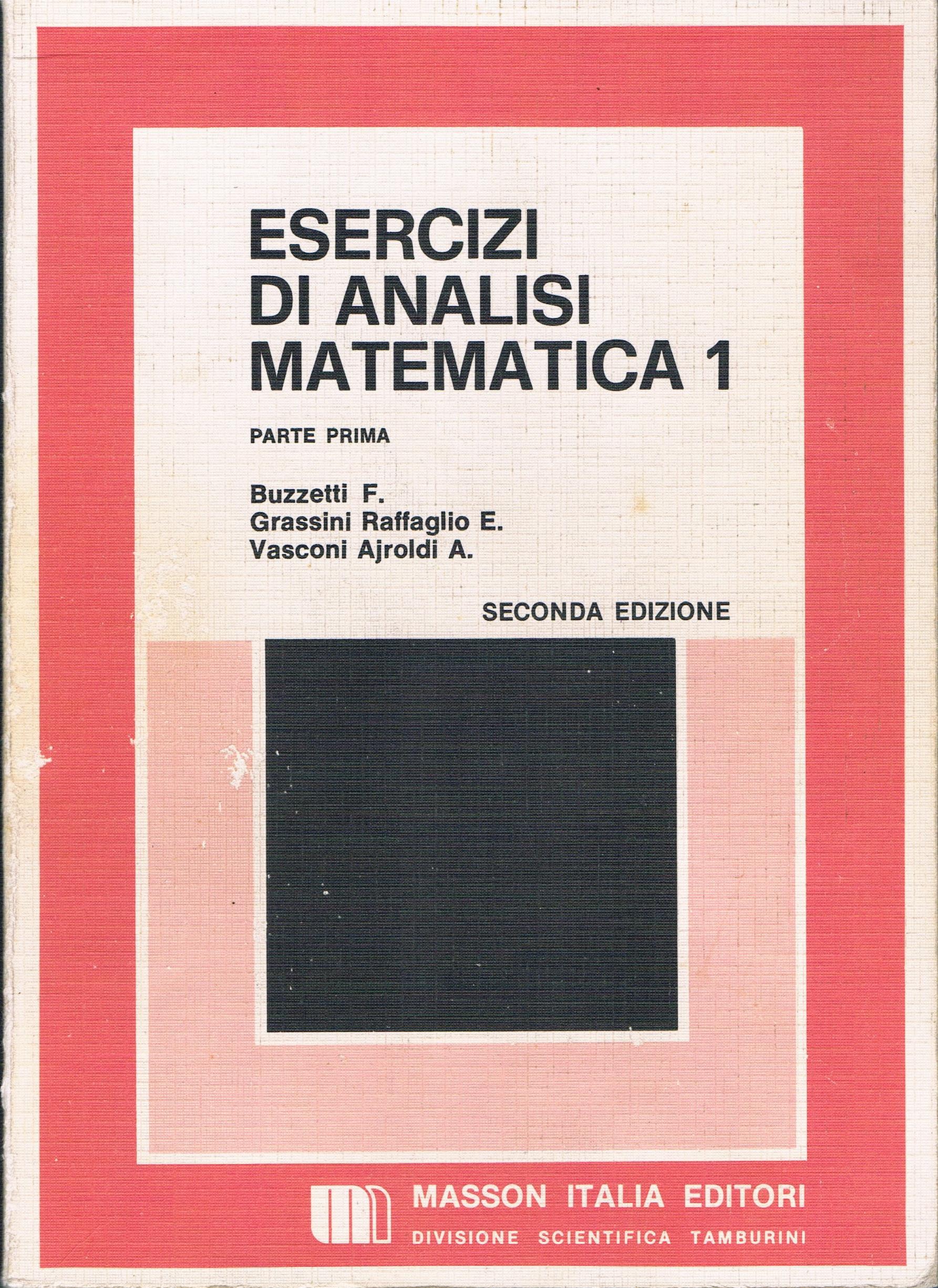 Esercizi di Analisi Matematica [1.1]