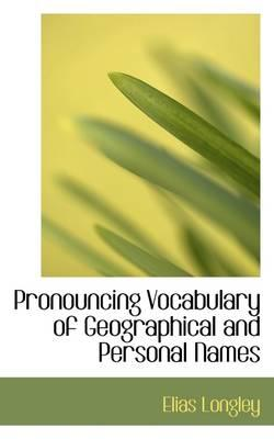 Pronouncing Vocabula...
