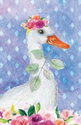 Bullet Journal For Animal Lovers Goose In Flowers