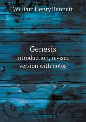 Genesis Introduction, Revised Version with Notes