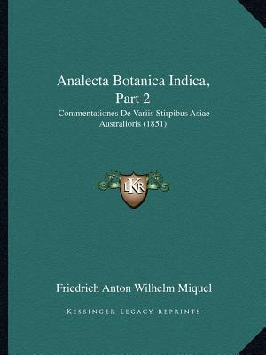 Analecta Botanica Indica, Part 2