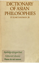 Dictionary of Asian Philosophies