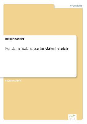 Fundamentalanalyse im Aktienbereich
