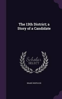 The 13th District; A Story of a Candidate