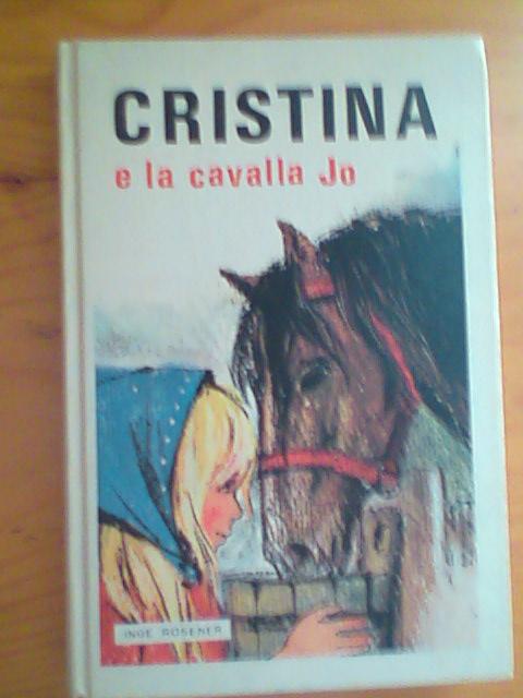Cristina e la cavalla Jo