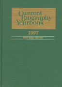 Current Biography Yearbook, 1997
