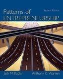 Patterns of Entrepreneurship, 2nd Edition