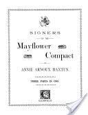 Signers of the Mayflower Compact