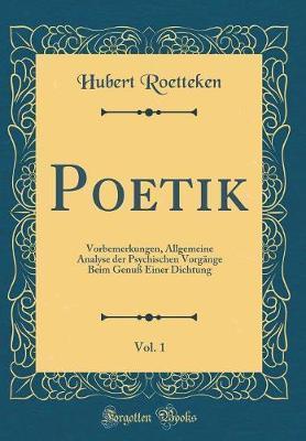 Poetik, Vol. 1