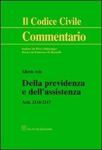Della previdenza e dell'assistenza. Artt. 2114-2117