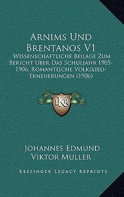 Arnims Und Brentanos V1