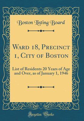 Ward 18, Precinct 1,...