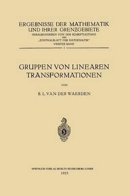Gruppen Von Linearen Transformationen