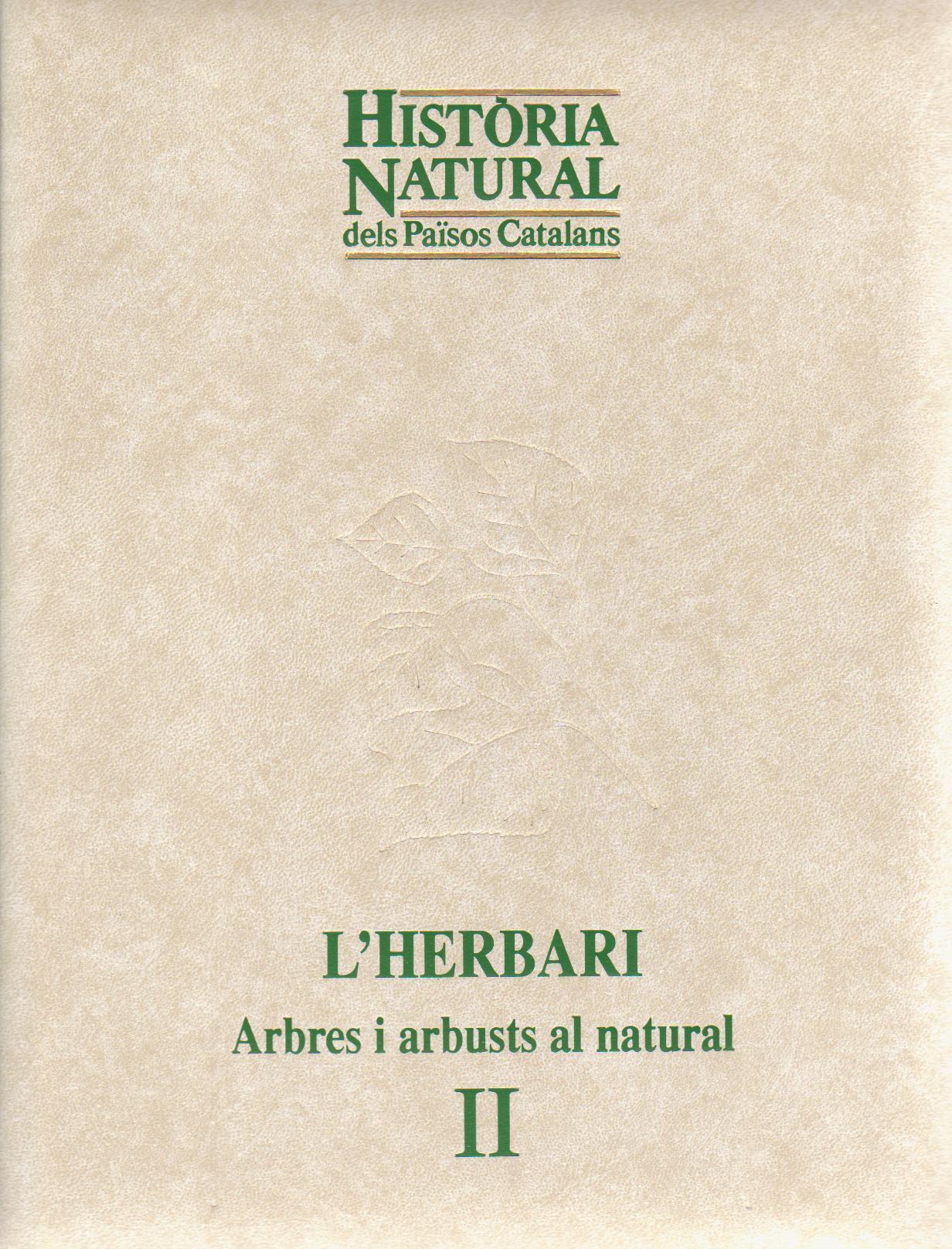 Història natural dels Països Catalans. L'herbari